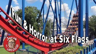 Fun and Horror at Six Flags