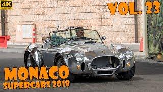 SUPERCARS IN MONACO 2018 - VOL. 23 (Agera One:1, LaFerrari, Zenvo, P1, etc ... ) [2018 4K]