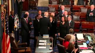 Joe Donnelly sworn in as U.S. Senator for Indiana