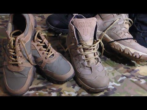 Тактические ботинки и кроссовки