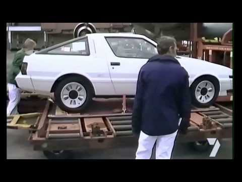 Delivery of Kevin Bartlett's New Toy - Mitsubishi Starion