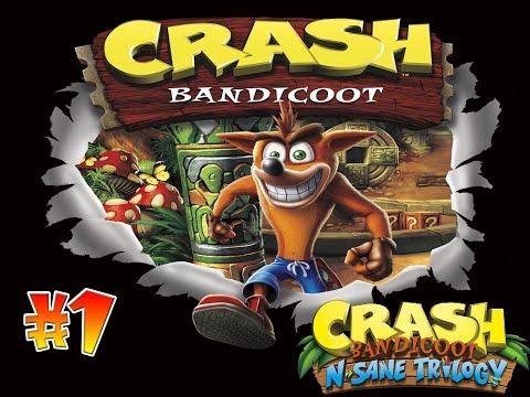Crash Bandicoot 1 N-Sane Trilogy   Guia En Español   Parte #1 (10%) Conseguido