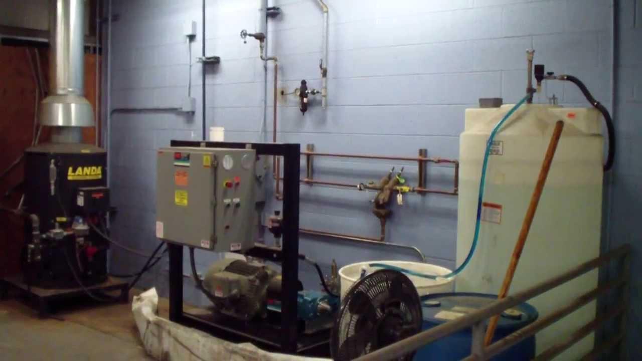 Multi Gun Variable Pressure Washer Hydro Chem Systems Vws Vehicle Wash