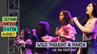 """Video Mash Up Audrey, Cantika, Fatin, Isyana """"Wild Thought"""" """"Maria"""" and """"Independent Women"""" download MP3, 3GP, MP4, WEBM, AVI, FLV September 2017"""