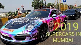 SUPERCARS IN MUMBAI 2019|PARX AUTOCAR SHOW 2019| GAUTAM SINGHANIA  SUPERCAR 2019