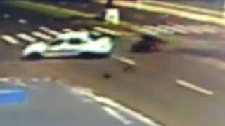 LEIA NOTÍCIAS - Câmeras flagram acidente fatal de motociclista, em Avenida de Botucatu