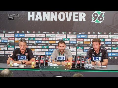 4. Spieltag | H96 - SGD | Pressekonferenz nach dem Spiel