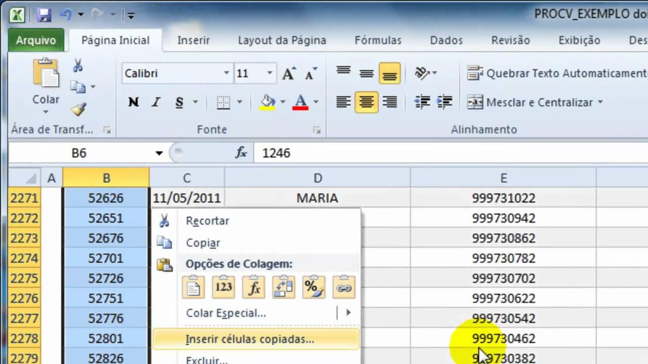 Excel 200   Procv e Proc Parte 20   200 HD   YouTube
