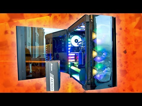 Corsair's Coolest Case and Biggest PSU EVER!