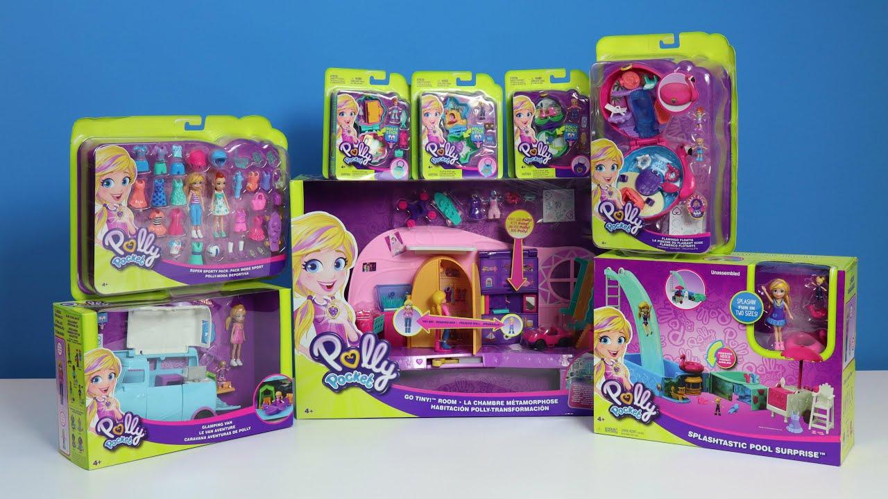 Polly Pocket'ın Macera Dolu Dünyası – Micro Polly Pocket Oyun Setleri   EvcilikTV