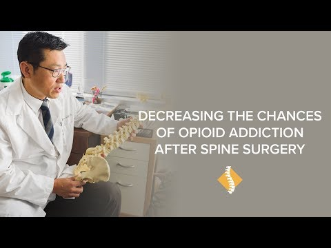 How a New Recovery Technique is Decreasing the Chances of Opioid Addiction after Spine Surgery