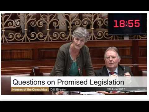 Catherine Connolly asks An Taoiseach about the Irish Language Bill