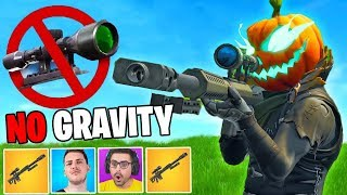 1VS1 NO SCOPE CHALLENGE! *SENZA GRAVITÀ* - Fortnite CHALLENGE ITA