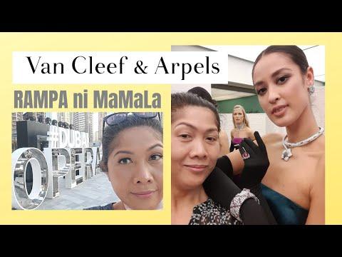 Trip ni MamaLa Van Cleef and Arpels Event in Dubai Opera