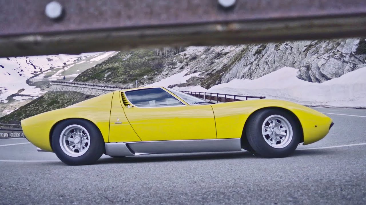 The Italian Job Reloaded Lamborghini Miura Tribute Youtube