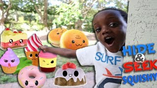 Hide And Seek With Giant Squishies At The Park