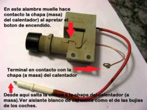 Calentador de agua a gas Encendido a pilas  YouTube