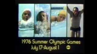 ABC Summer Olympics Games Of 1976 (Swimming Promo)