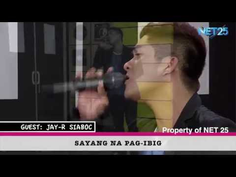 JAY-R SIABOC NET25 LETTERS AND MUSIC Guesting Part 1
