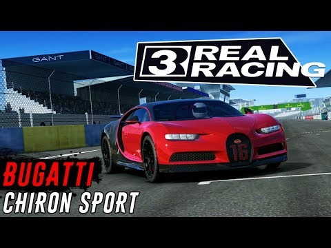 Real Racing 3 - Событие на Bugatti Chiron Sport (ios) #7