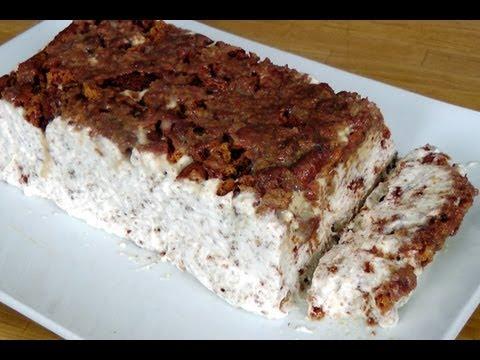 Tortoni Ice Cream Cake Recipe - by Laura Vitale - Laura in the Kitchen Episode 190
