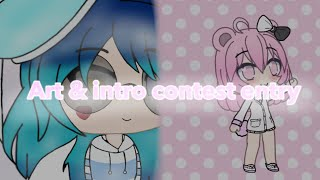 Purple Uni Girl Art Contest & Neko Chan Intro Contest Entry-#PURPLEARTCONTEST(and Neko's too lol)