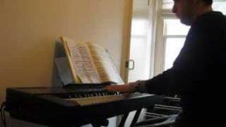 Bach French Suite #2, 1st movement dedicated to Semsa Uygun