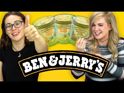 Irish People Taste Test Ben & Jerry