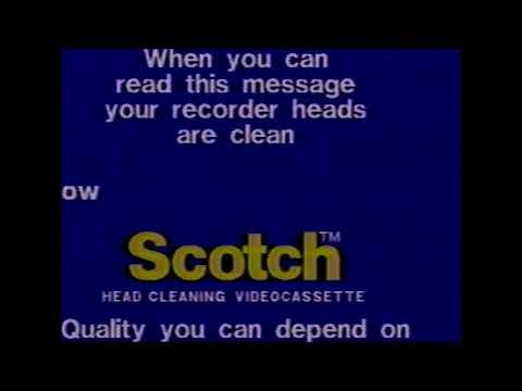 Scotch VHS Head Cleaner