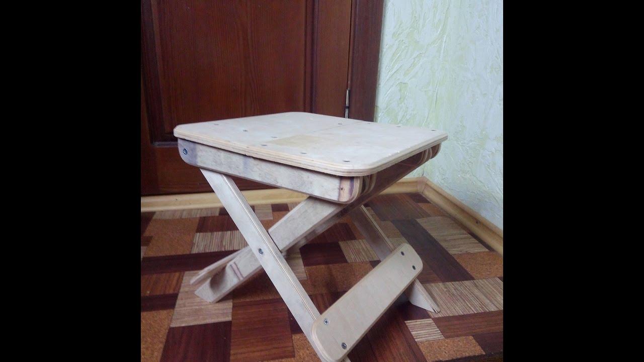 Сделать маленький стульчик своими руками