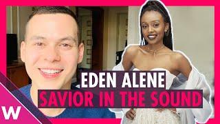 Eden Alene - Savior in the Sound REACTION | Israel Eurovision 2020