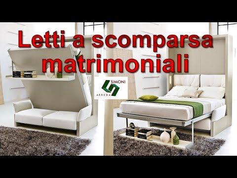 Letti a Scomparsa matrimoniali | Letti Trasformabili matrimoniali ...