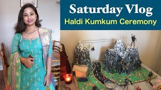 How to Celebrate Indian Festivals Abroad || Haldi Kumkum Ceremony in UK || Feeling at Home