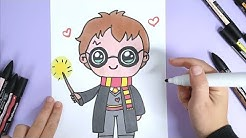 Kawaii Harry Potter Malen - Kawaii Bilder