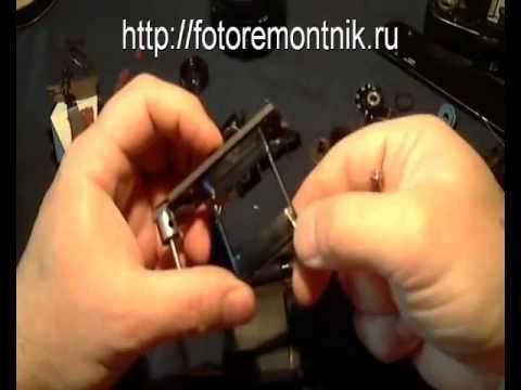Ремонт фотоаппарата Зенит ЕТ.