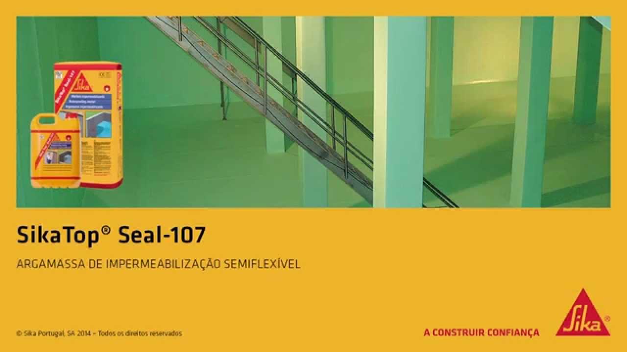 Sikatop seal 107 sika portugal sa youtube - Sikatop seal 107 ...