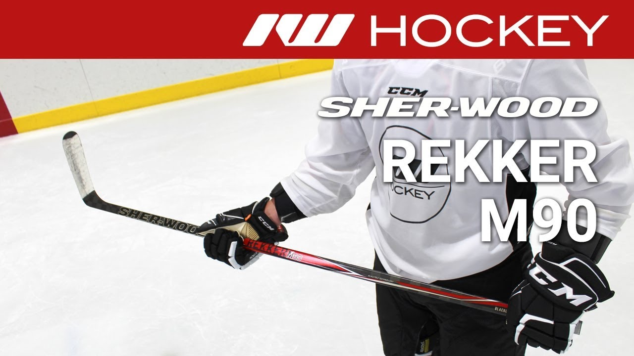 Sherwood Rekker M90 Stick On Ice Review Youtube
