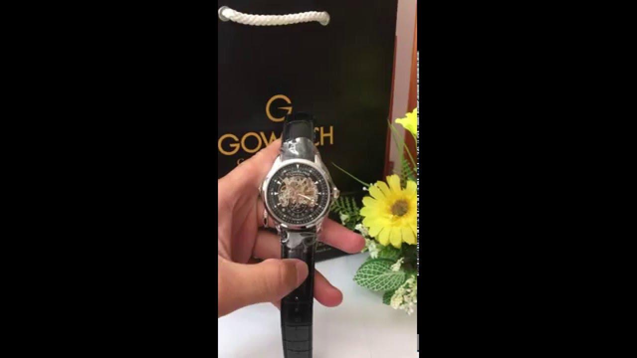 stuhrling original men s 133 33151 executive automatic skeleton stuhrling original men s 133 33151 executive automatic skeleton black genuine leather strap watch
