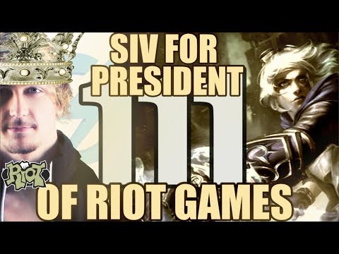 Siv HD - Best Moments #111 - SIV FOR PRESIDENT OF RIOT GAMES