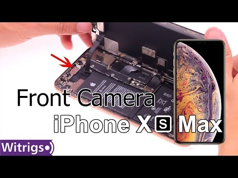 iPhone XS Max Front Camera Replacement