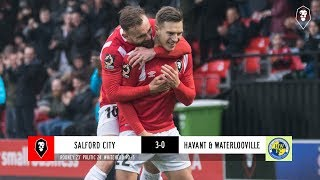 Salford City 3-0 Havant & Waterlooville | The National League 01/12/18