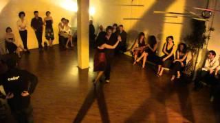 Armand FRYDMAN & Virginia GALVÁN dansent à DERRIÈRE LE MOULIN