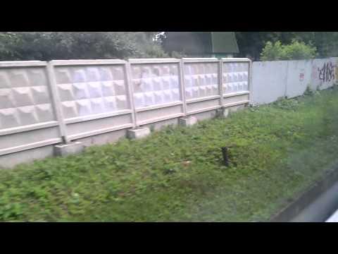2014 |  Вид из окна электропоезда Мытищи - Пушкино.  | Часть #2 |