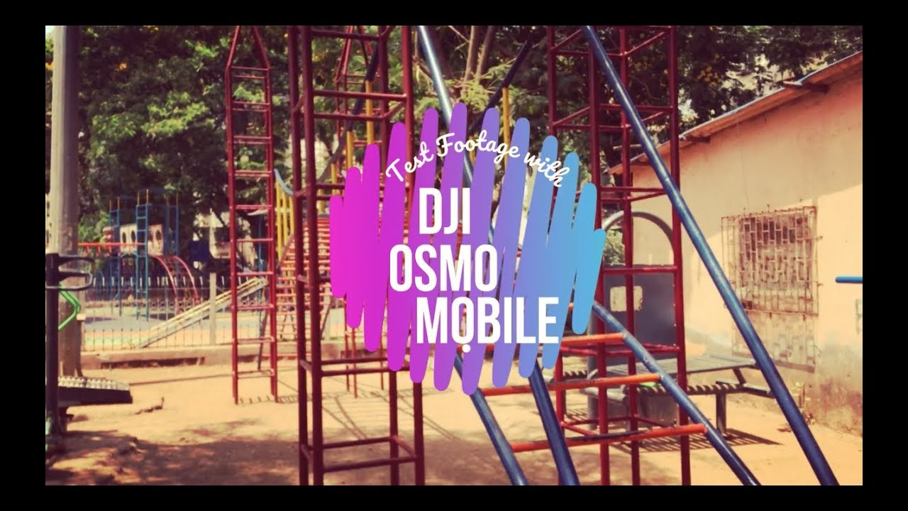 DJI OSMO MOBILE WITH IPHONE 5S TEST FOOTAGE