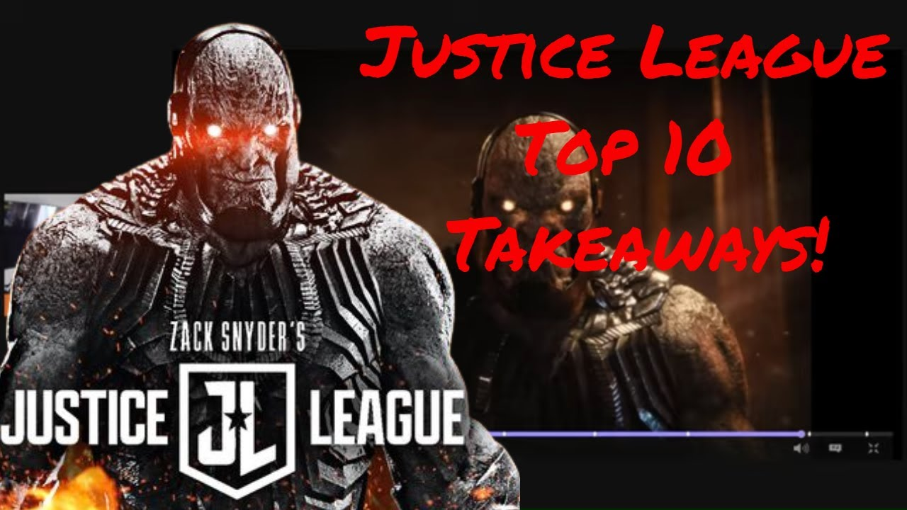 Zack Snyder's Justice League Honest Review! Top 10 Takeaways & Best Moments.