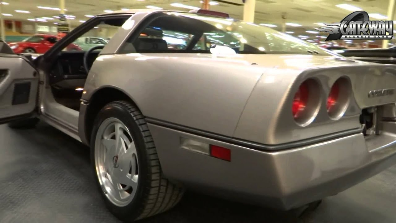 1988 chevrolet corvette for sale at gateway classic cars in our st louis mo showroom youtube. Black Bedroom Furniture Sets. Home Design Ideas