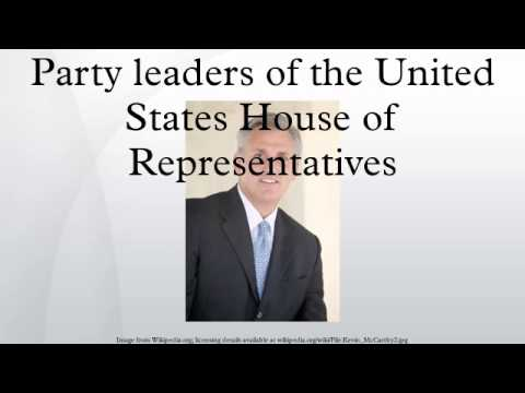 Party leaders of the United States House of Representatives