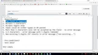 Тестирование Программного Обеспечения - урок №6. Тест кейсы. Онлайн вебинар.