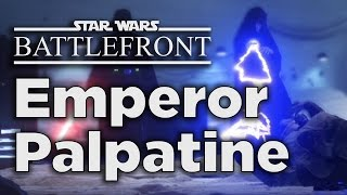 Emperor Palpatine - Star Wars Battlefront Gameplay