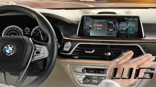 BMW Gesture Controls In Depth Overview | Set Up and Uses